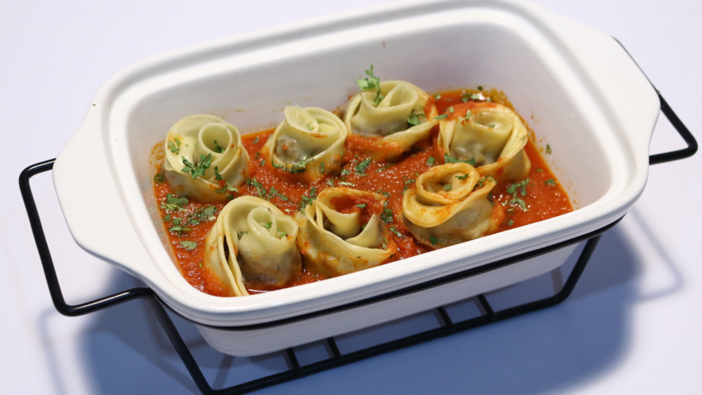 Meatball Roses With Tomato Sauce Recipe | Dawat