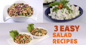 3 Easy Salad Recipes | Quick Recipes