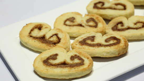 Cinnamon Sugar Palmier Recipe | Food Diaries