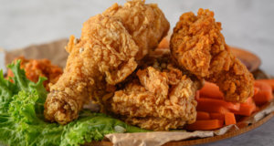 Crispy Chicken Fry Recipe | Tarka