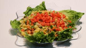 Cream Walnut Salad Recipe | Flame On Hai