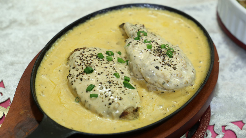 Grilled Chicken with Pepper Sauce   Quick Recipes
