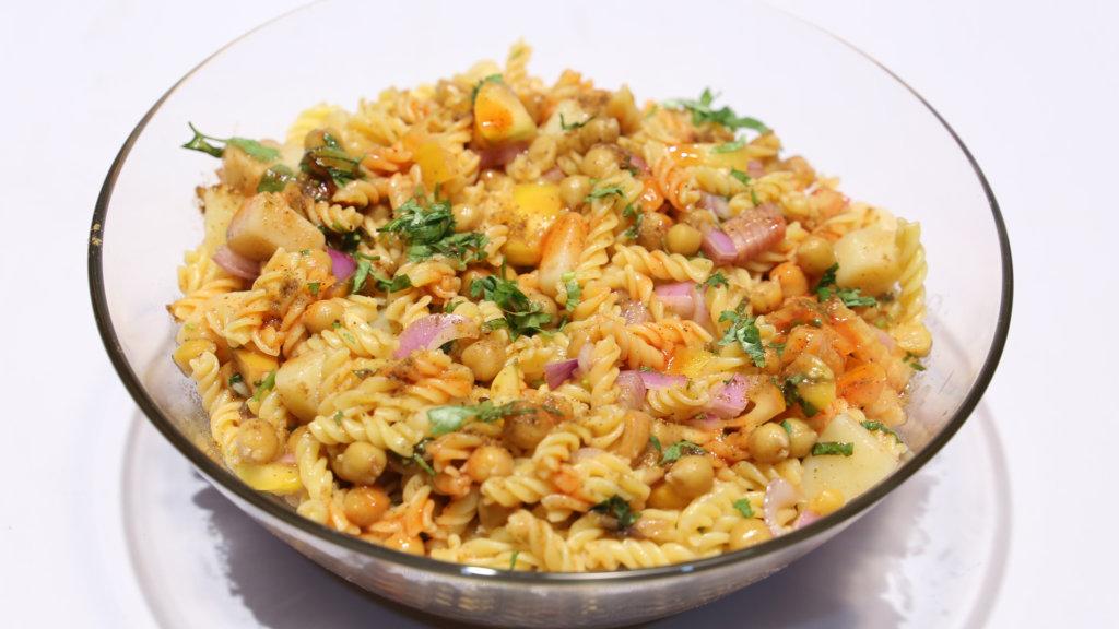 Macaroni Chaat | Quick Recipes