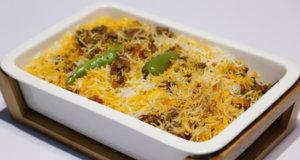 Madrasi Qeema Biryani Recipe | Lazzat