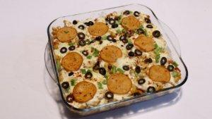 Supreme Pizza Casserole Recipe | Lazzat