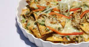 Cheesy Hunters Chicken Nachos Recipe | Dawat