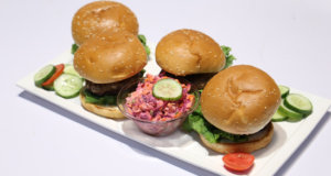 Burgers with Coleslaw Recipe | Food Diaries