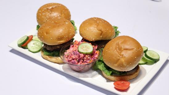 Burgers with Coleslaw Recipe | Food Diaries