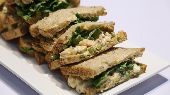 Chicken Egg Salad Sandwich Recipe | Food Diaries