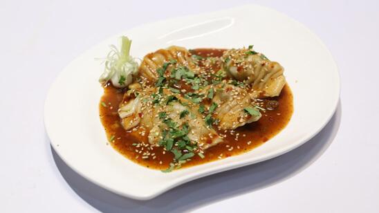 Chicken Dumplings with Ginger Chilli Recipe | Lazzat