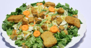 Chicken Almond Salad Recipe | Tarka