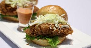Crispy Chicken Sandwich Recipe | Dawat
