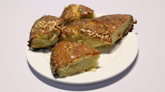 French Almond Cake Recipe | Food Diaries