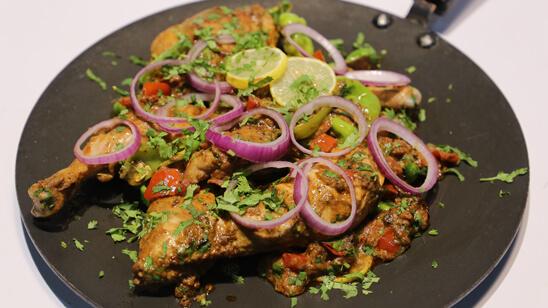 Fry Chicken Tawa Piece Recipe | Lazzat