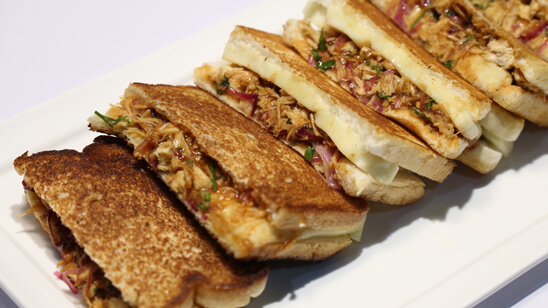 Grilled Sandwich Recipe   Food Diaries
