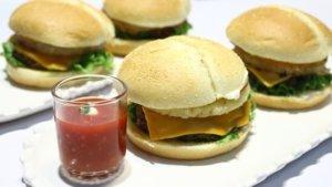 Hawaiian Teriyaki Burger Recipe | Lazzat