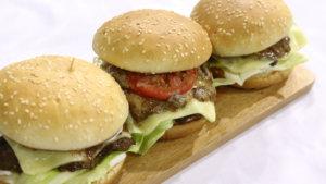 Roasted Beef Burger Rice Recipe   Flame On Hai