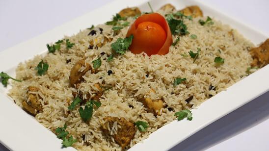 Afghani Pulao Recipe   Tarka