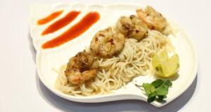 Garlic Shrimp Scampi Recipe | Dawat