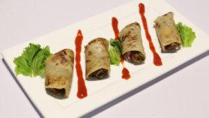 Seekh Kabab Roll Recipe   Tarka