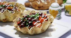 Tostada Salad Bowl Recipe | Dawat