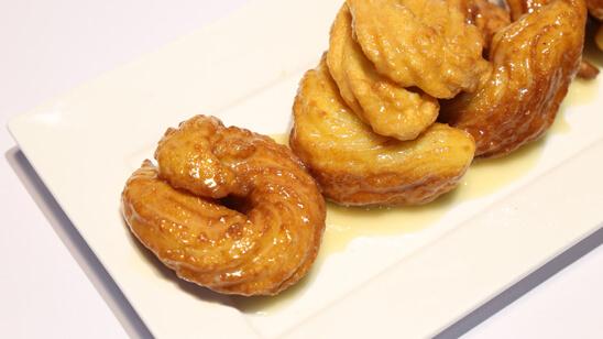 Crullers Recipe   Food Diaries
