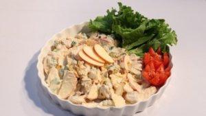 Chicken Apple Salad Recipe | Lazzat
