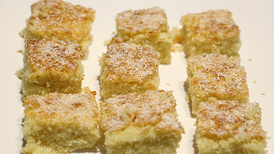 Coconut Cake Recipe | Tarka