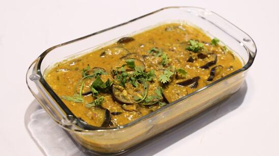 Dahi Bengan Recipe | Food Diaries