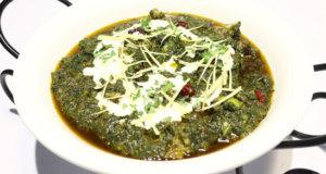 Degi Palak Gosht Recipe | Lazzat