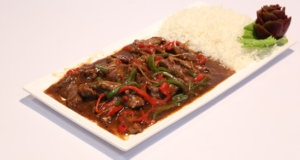 Finger Steak On A Bed Of Rice Recipe | Masala Mornings