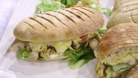 Grilled Chicken Panini Recipe | Flame On Hai