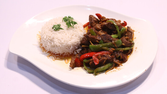 Mushroom & Garlic Beef Recipe | Lively Weekends