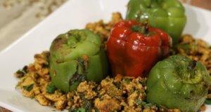 Qeema Bhari Shimla Mirch Recipe | Dawat