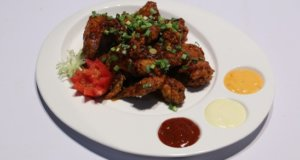 Schezwan Red Chili Wings Recipe | Lazzat
