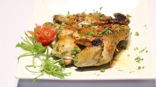 Thai Grilled Chicken Recipe | Lazzat