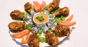 Tandoori Masala Drumsticks Recipe | Lazzat