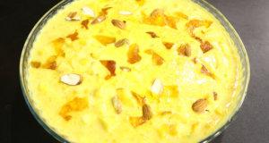 Boondi Mango Kheer Recipe