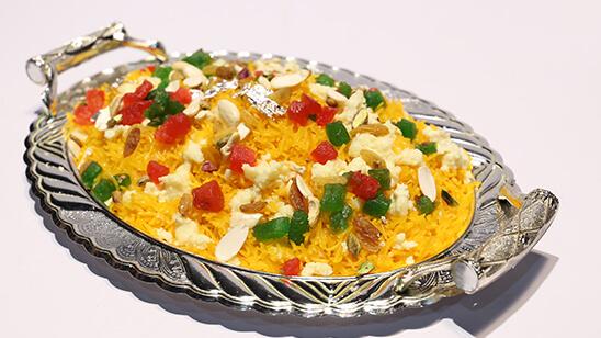 Khoya Zarda Recipe   Lazzat