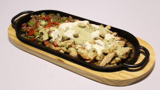 Mexican Sizzling Chicken Recipe | Lazzat