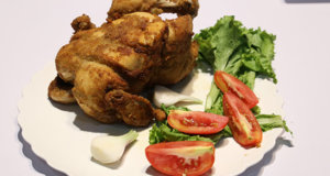 Whole Chicken Broast Recipe | Tarka