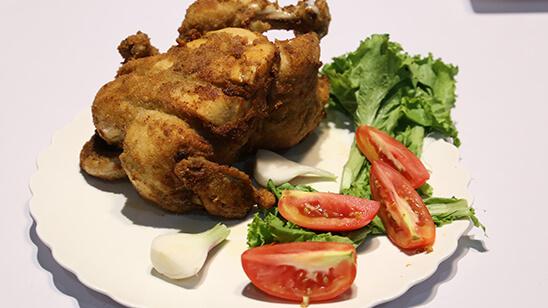 Whole Chicken Broast Recipe | Tarka
