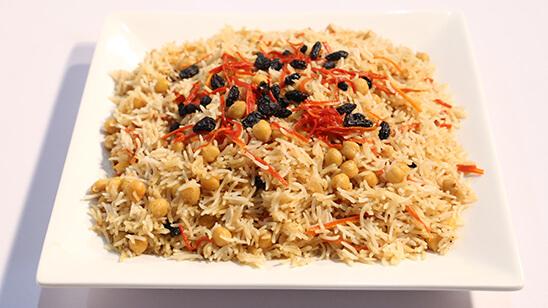 Afghani Channa Pulao | Quick Recipes