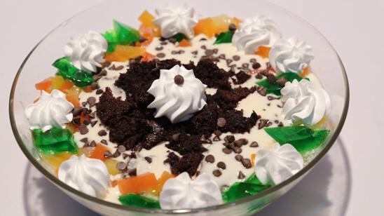 Cake Trifle Recipe   Tarka