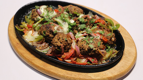 Cheesy Sizzling Gola Kabab Recipe | Lazzat