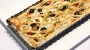 Chicken Cheese Pie Recipe | Masala Mornings