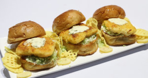 Crispy Fish Burgers Recipe | Dawat