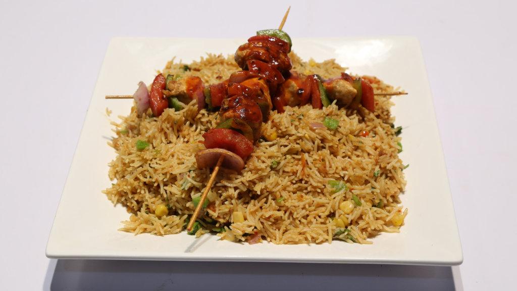 Hot Peri Rice | Quick Recipes