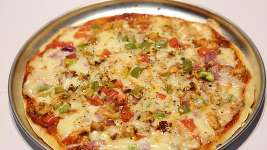 Pizza on Stove Recipe   Lazzat