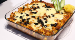 Pizza Pasta Casserole Recipe | Masala Mornings